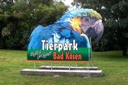 Werbetafel Tierpark Bad Kösen